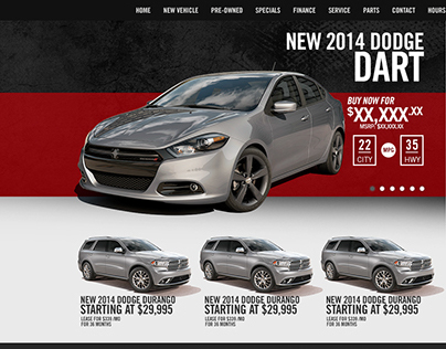 Automotive Dealership website