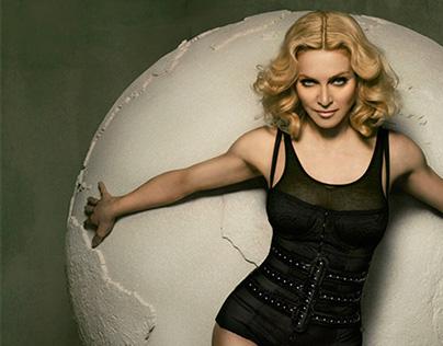 Retouch Madonna