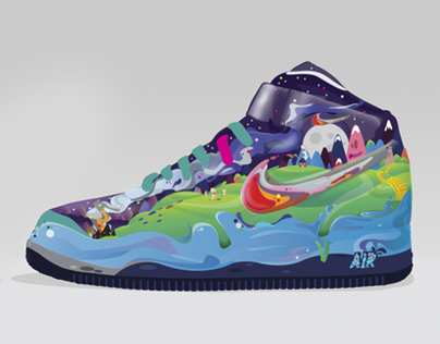 Footlocker Art prize Nike Colour Comets - Finalist