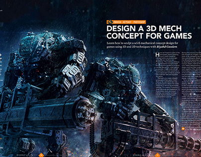 3d World Magazine 185 September 2014 Mech Tutorial