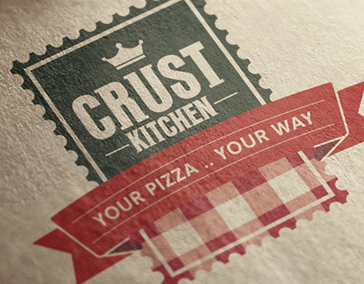 Crust Kitchen // Branding