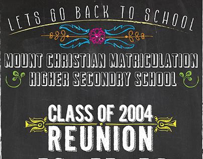 School Reunion Poster