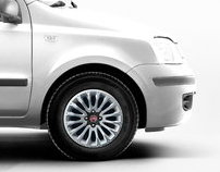 WheelRim Design Proposals for the new Fiat Panda (2009)
