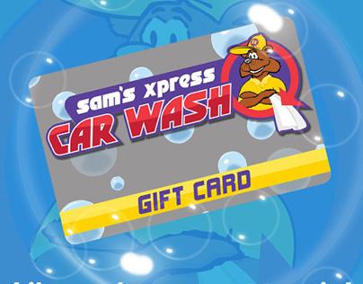 Sams Xpress Car Wash - Social Media Marketing