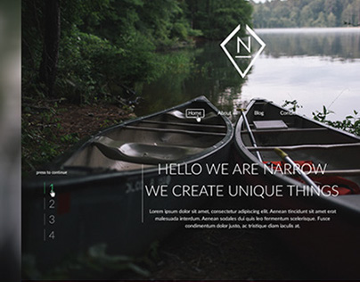 Narrow Web design