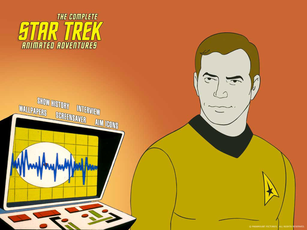 Star Trek Animated Series CD-ROM