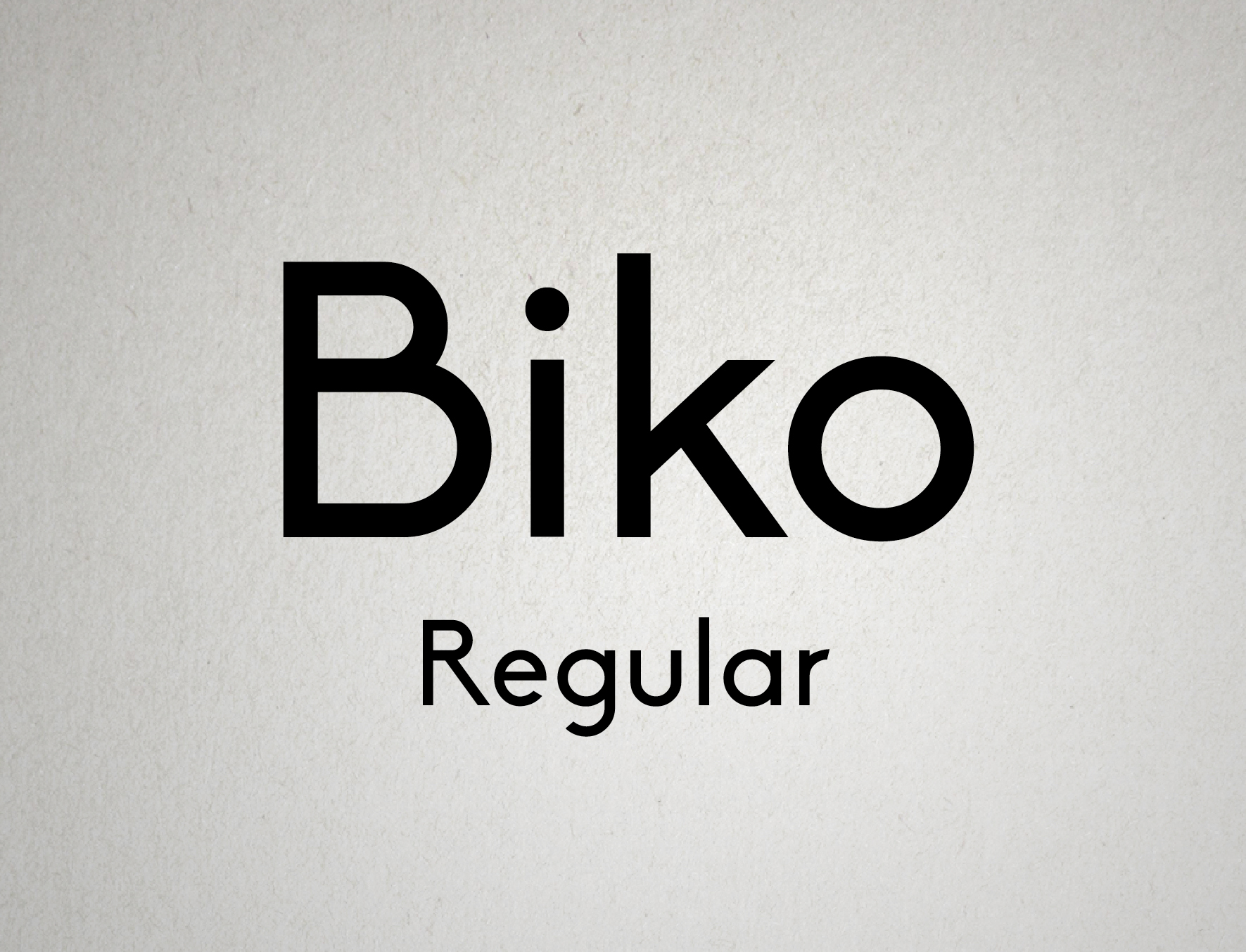 Biko Regular - Free Download