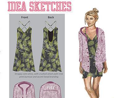 Victorias Secret PINK Intern Design Project
