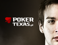 PokerTexas.pl Logotype and Website 2009