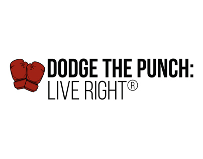 Dodge the Punch: Live Right logo