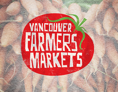 Vancouver Farmers Markets - logo redesign