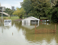 RED CROSS FLOODED HOME