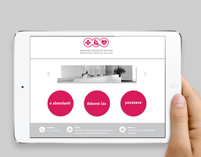 Corporate identity for family clinic