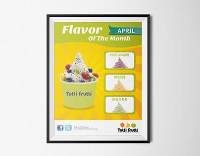 Newspaper Ads Proposal | Tutti Fruitti