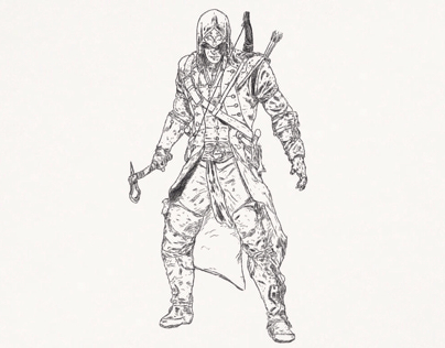 Assassin's Creed 3 Ratonhnhaké:ton (Conor)