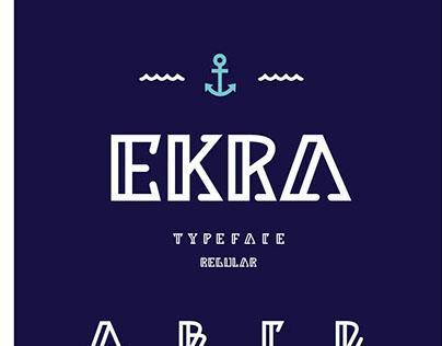 EKRA Typeface