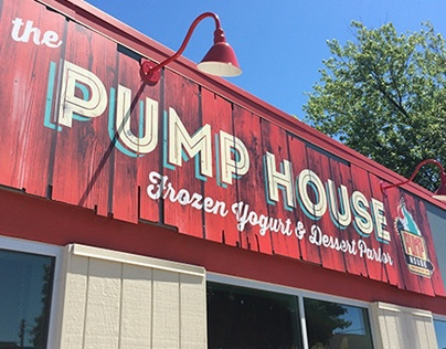 The Pump House Frozen Yogurt and Dessert Bar