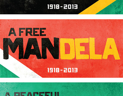 Nelson Mandela Tribute Designs