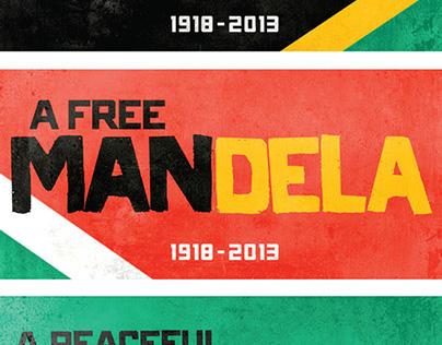 Nelson Mandela Tribute Designs