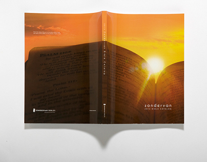 Zondervan 2013 Bible Catalog Cover