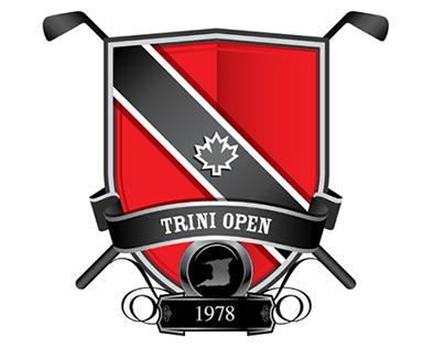 Trini Open Golf Tournament Emblem