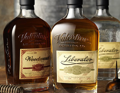 Woodward Vodka and Liberator Gin, Valentine Distillery