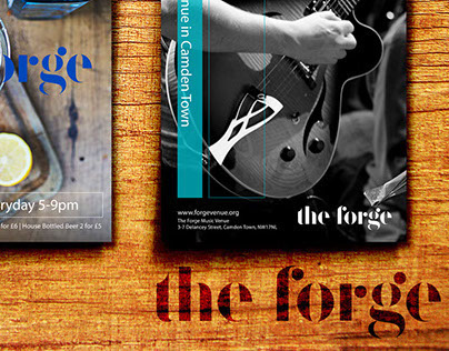 The Forge | Happy Hour Flyer