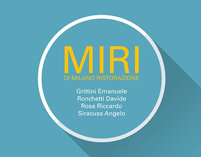 MIRI di Milano Ristorazione - Tesi
