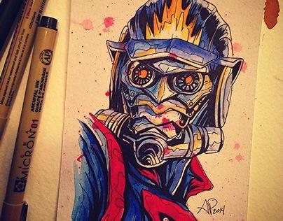 Comic Star Lord