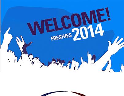 SZABIST Sports Society Freshies Welcome 2014