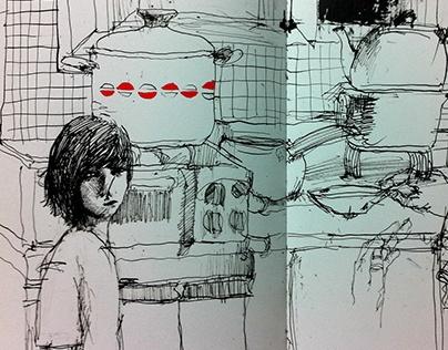 Kitchen and burying myself