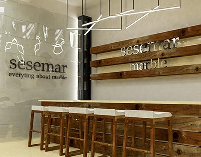 Sesemar Marble Showroom Quick Design