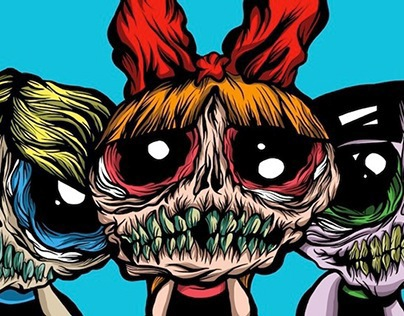 POWER PUFF ZOMBIES