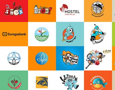 6 years - 60 logos by umbra design studio