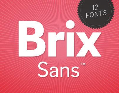 Brix Sans (Typefamily)