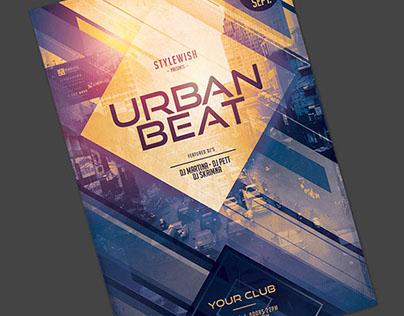 Urban Beat Flyer