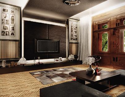 Interior design - Luxury apartment in Timisoara