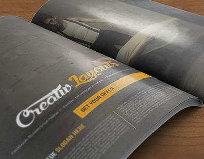 Creative Insomania Magazine Template
