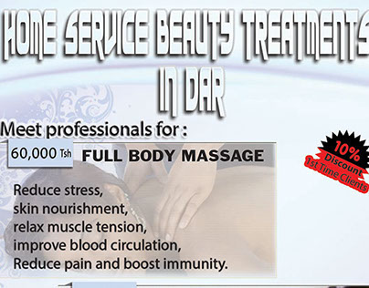 HOME SERVICES BEAUTY TREATMENTS
