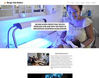Design that Matters Website Redesign