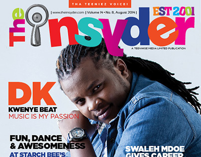 The insyder Magazine August 2014 Issue