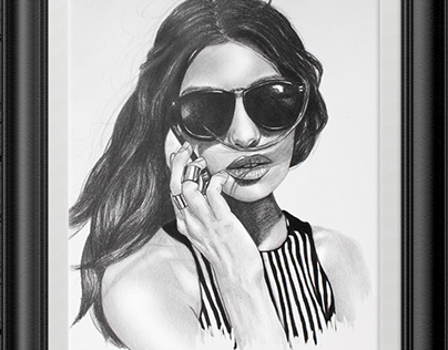 Graphite & Ink Illustration