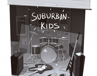 Suburban Kids daily illustrations