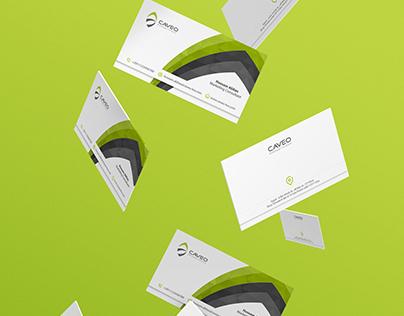 Caveo Logo & Stationery