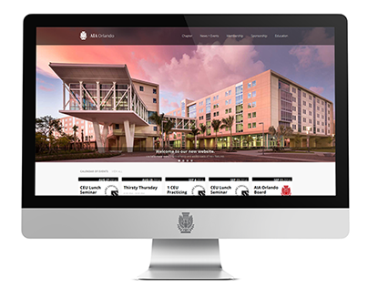 AIA Orlando Website Re-Design