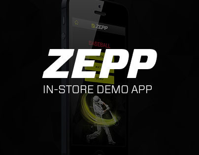 Zepp Labs In-Store Demo App