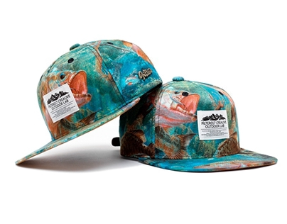 Filter017 Wild Animal Snapback Cap - River Fishes
