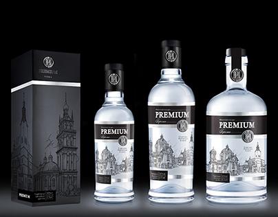 Premium vodka