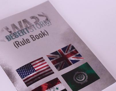 War Desert Storm - Board Game