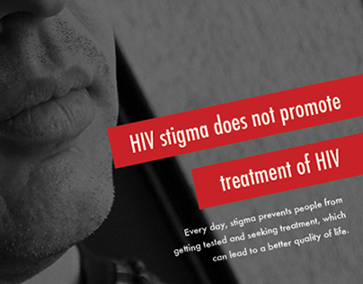 HIV Stigma Poster